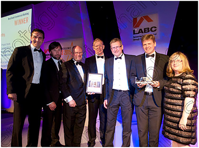 Lakes Distillery LABC Building Excellence Award