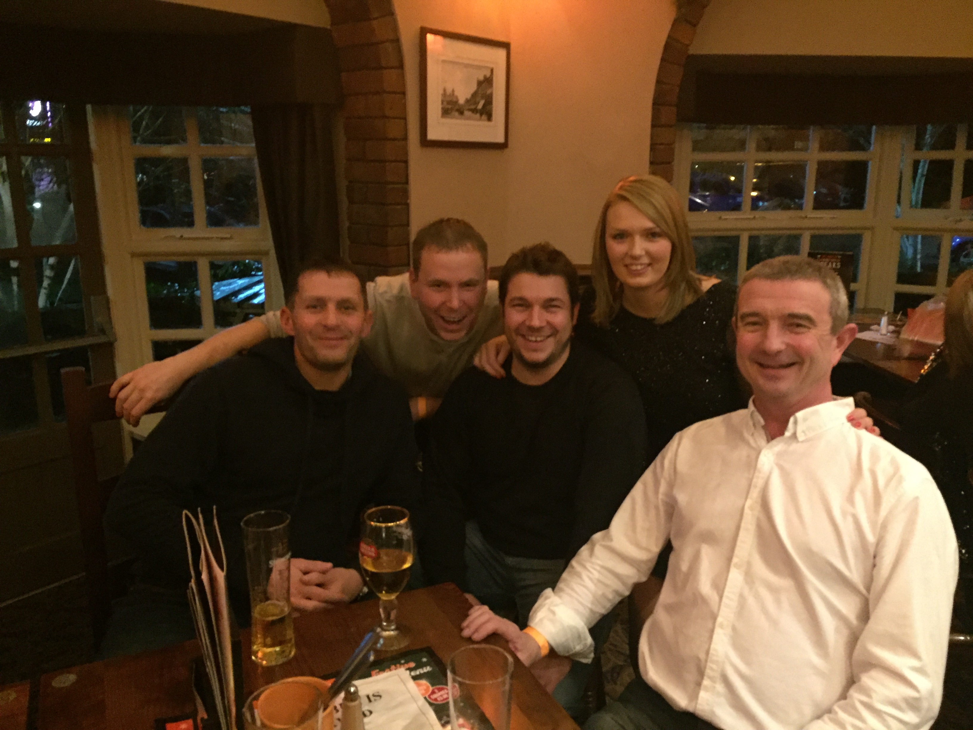 J&J Electrical and Cumbria Mechanical 2015 Staff Christmas Party